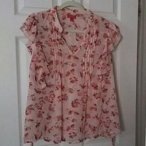 ELLE floral blouse